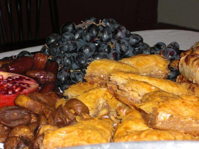 Middle Eastern Dessert Platter