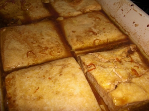 Baked Tangarine Tofu from <em>Veganomicon</em>