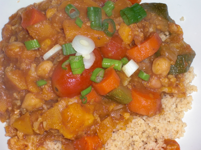 Morrocan Vegetable Tagine with Couscous