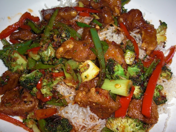 Mongolian Stir-Fry at Blind Faith