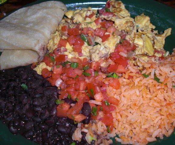 Huevos Mexicanos at Dos Segundos