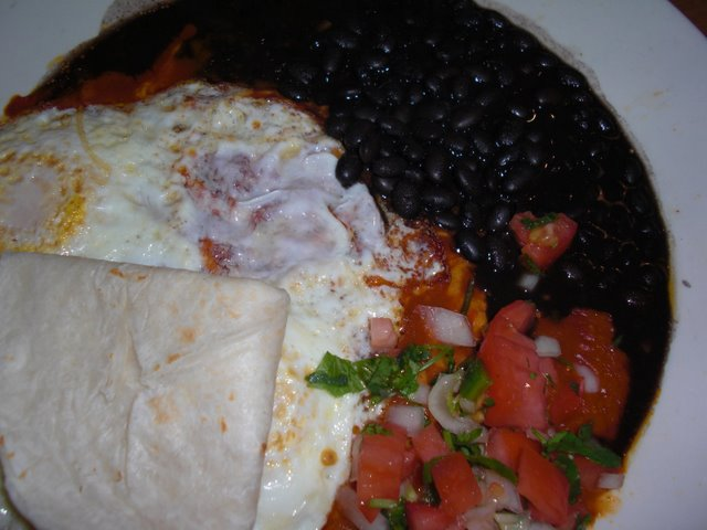 Huevos Rancheros at Flo