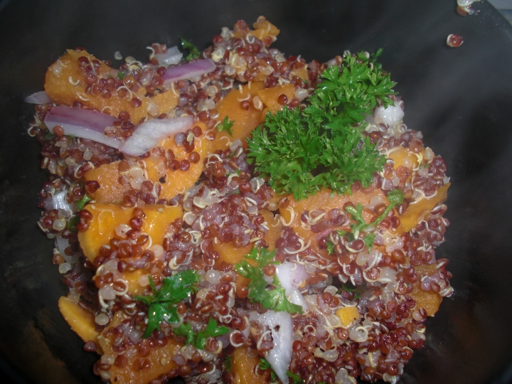 Quinoa and Sweet Potato Salad from <em>How to Cook Everything</em>