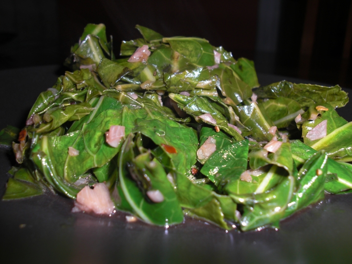 Sauteed Collard Greens from <em>Veganomicon</em>
