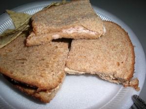 """""""Chicken"""" salad sandwich"""