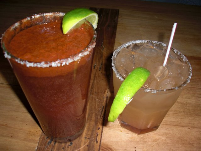 Michelada and Margarita