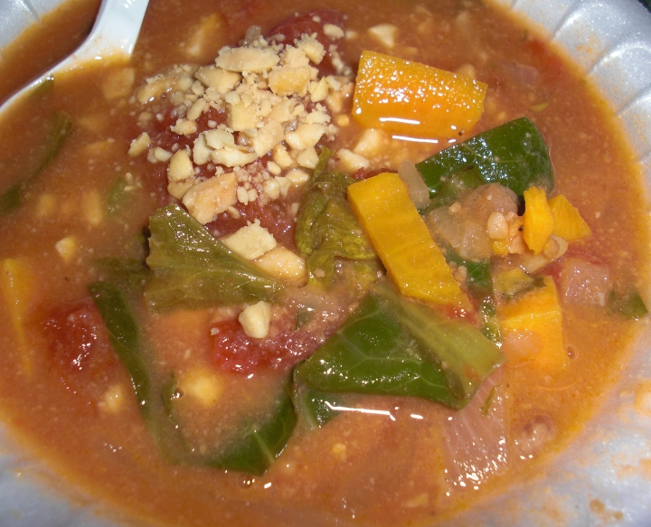 Senegales Peanut Soup