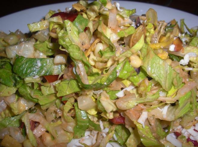 Mexican Chop Salad at El Vez