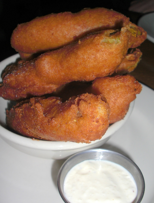 Fried Pickles at Memphis Taproom