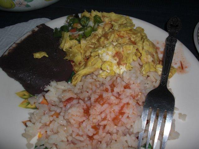 Desayuno mas typica
