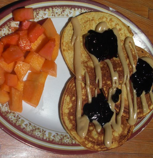 Macademia Nut Pancakes