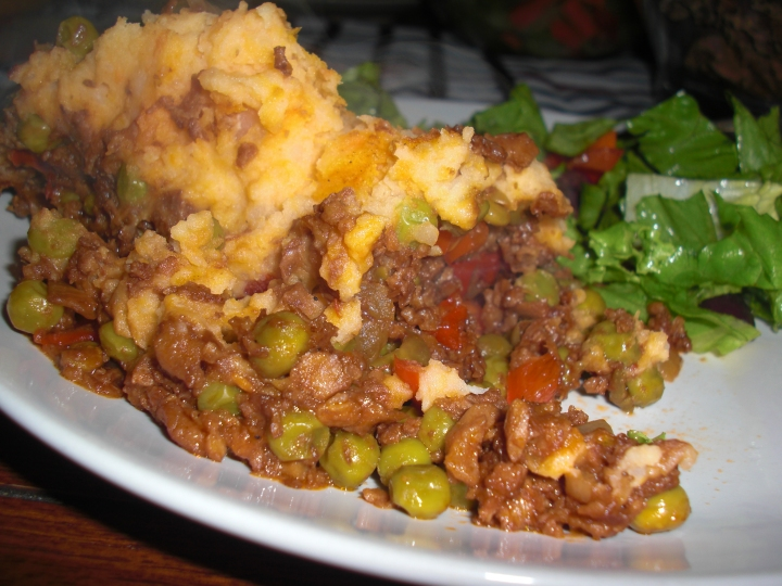 Vegan Shepards Pie