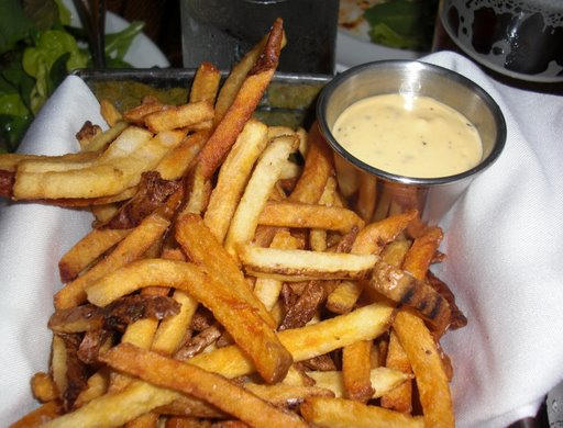 Fries with truffle dijonaise