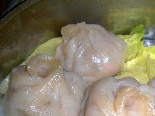 Steamed Roast Pork Dumplings
