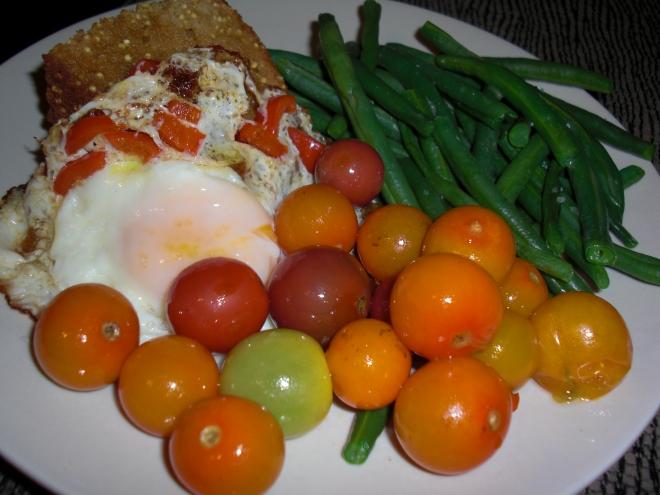 Eggs for dinner